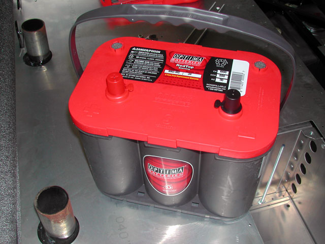 Factory Five Racing Roadster Wiring Optima Red Top Battery