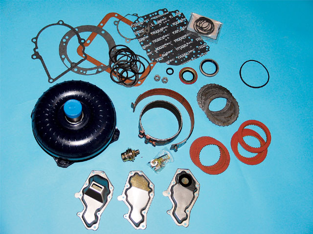 Small Block Ford Transmission Performance C4 Build Kit