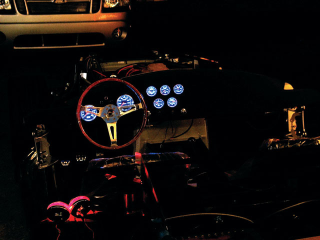 Factory Five Roadster Body Install Illuminated Gauges