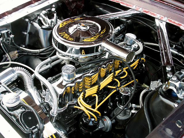 1964 Ford Mustang Coupe Engine