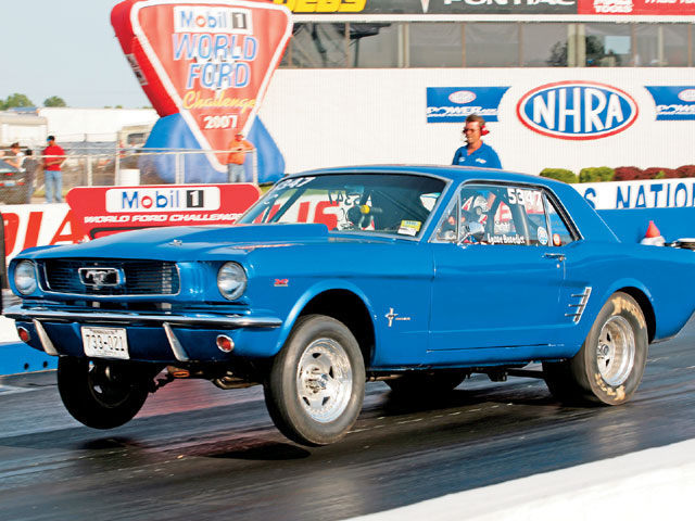 World Ford Challenge X 1966 Mustang