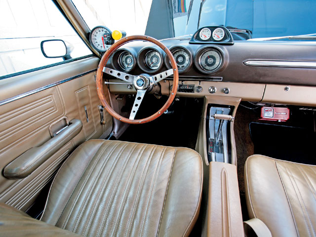 World Ford Challenge X 1969 Torino Cobra Interior