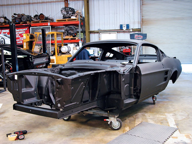 Dynacorn 1967 Ford Mustang Fasback Body Front View