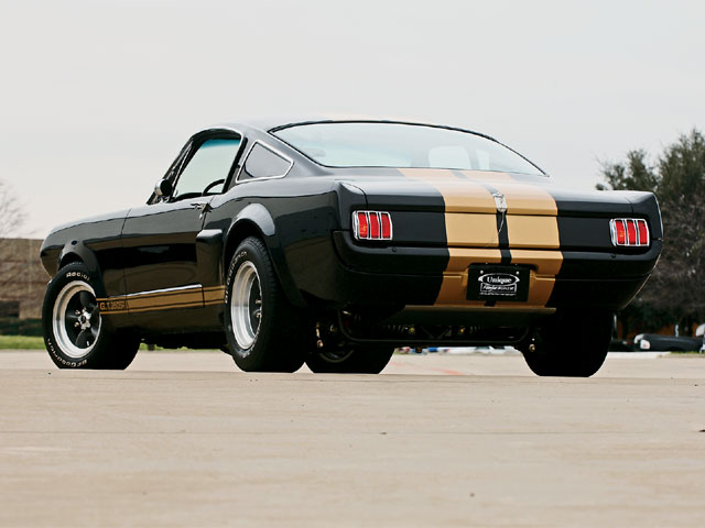 1966 Shelby Gt350sr Rear View