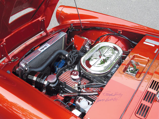 1965 Sunbeam Tiger Mk1 Engine Bay