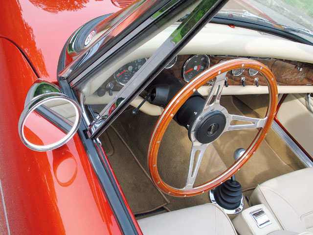 1965 Sunbeam Tiger Mk1 Steering Wheel
