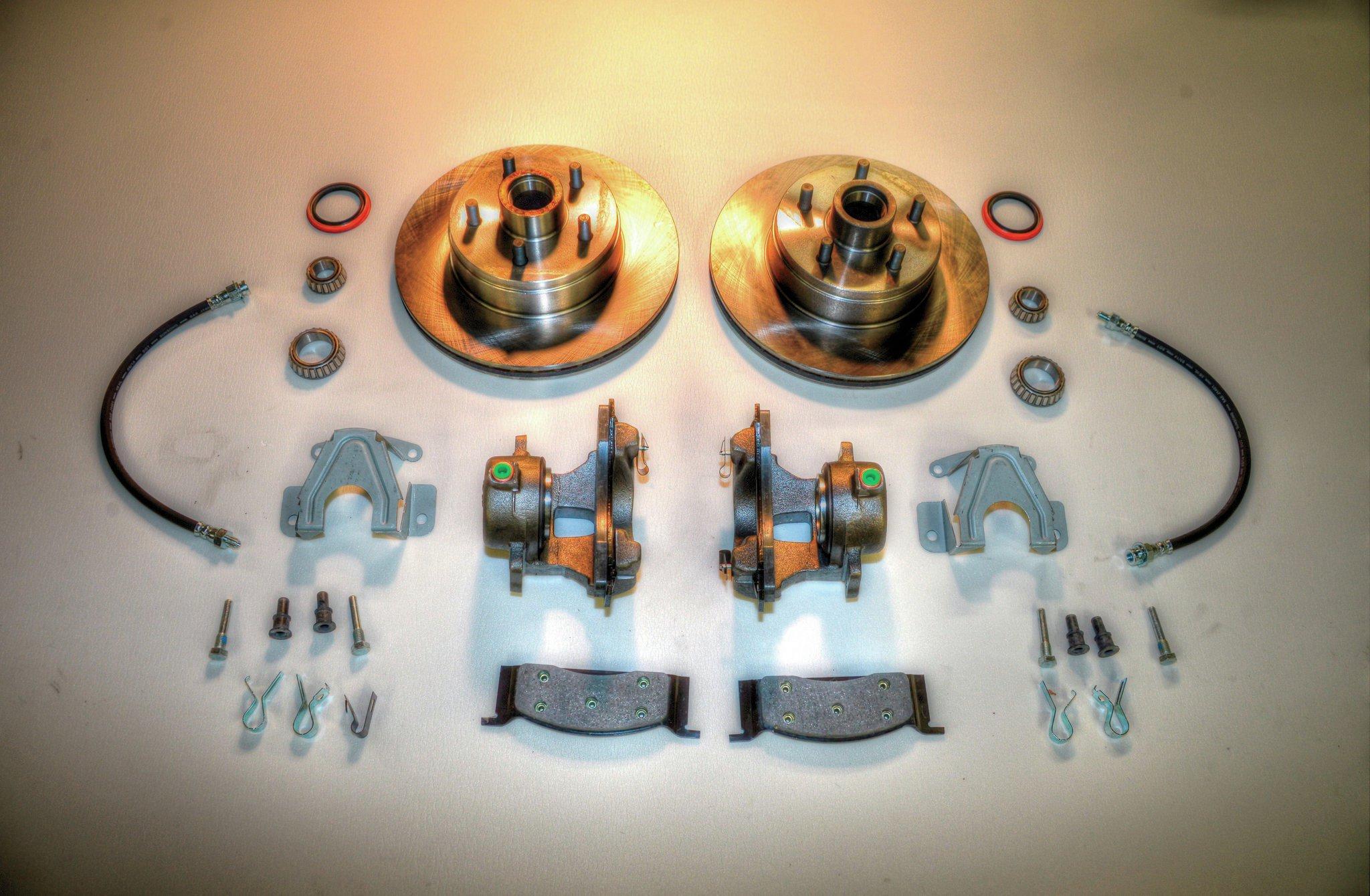 Performance Online Factory Disc Brake Kit