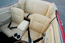 1964 Ford Mustang Convertible Front Rear Seats