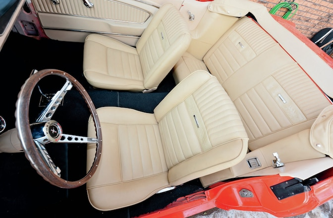 Astounding Leather Seating For 1965 1966 Ford Mustangs Ibusinesslaw Wood Chair Design Ideas Ibusinesslaworg