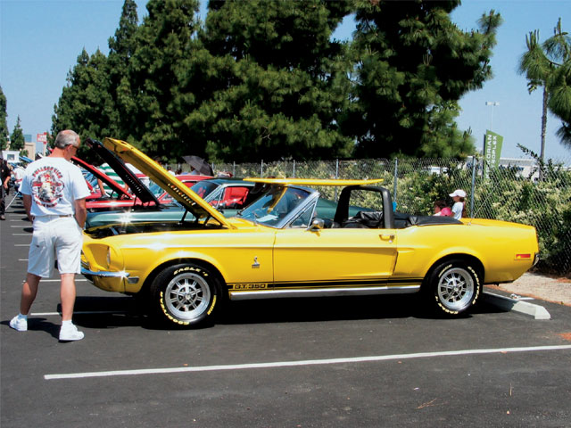 Ford Mustang Clone Car Classics Shelby GT 350 Convertible