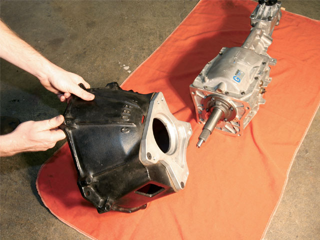 Ford Mustang Overdrive Transmission Swap Bellhousing