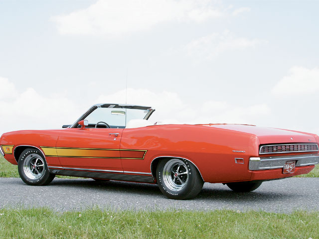 1971 Ford Torino GT Converible Rear