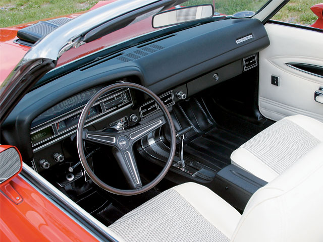 1971 Ford Torino GT Converible Interior