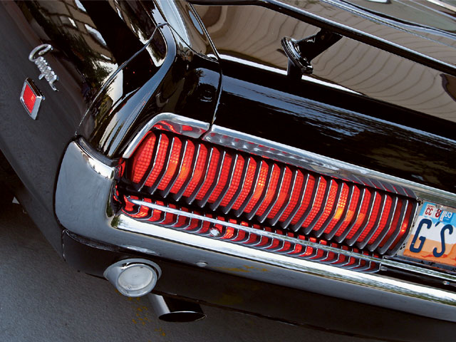 Mufp 0606 02 Z 1968 Mercury Cougar XR 7 Taillight