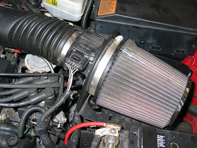 0402mm_05z Ford_Focus_ZX5 Underhood_Cone_Filter