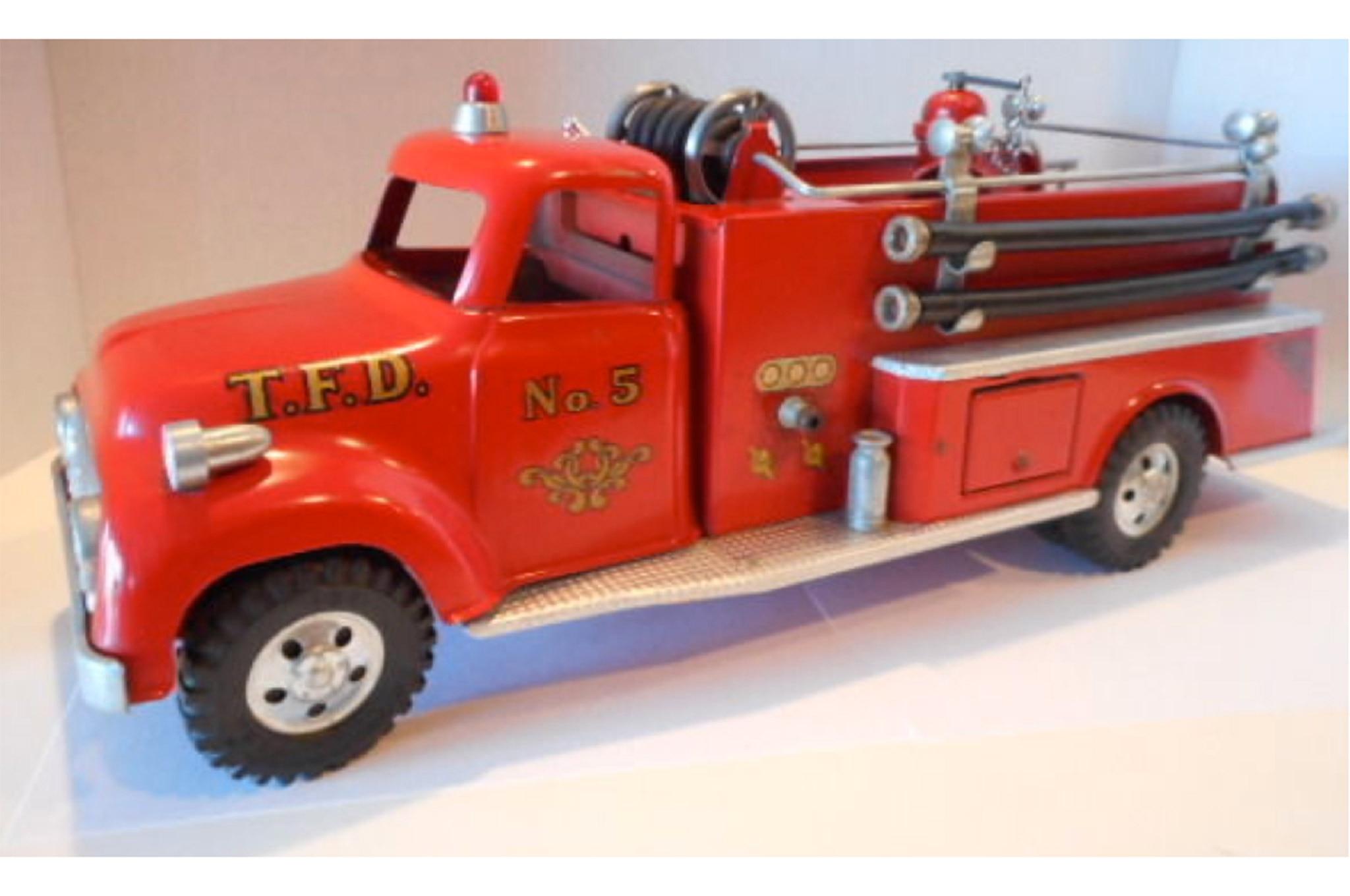 007 Ford F 750 Tonka 1956 Fire Truck