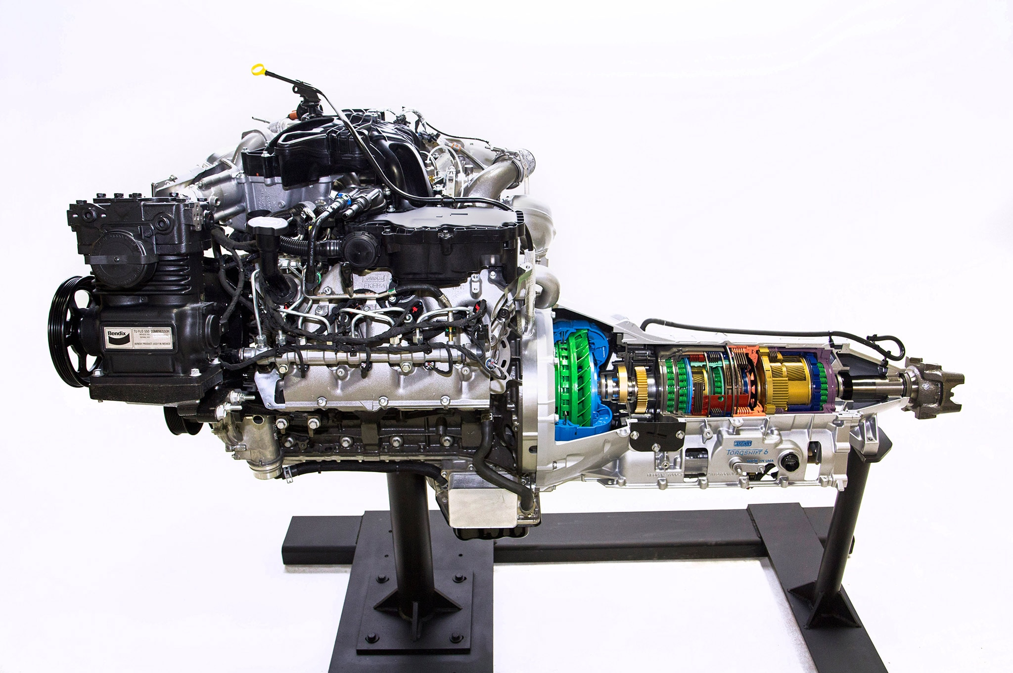 005 Ford F 750 Tonka Engine Transmission