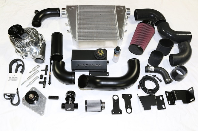 Easy Bolt-On Blower for the S550 Mustang: 527 hp to the