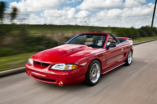 1994 Ford Mustang Front Side View 1