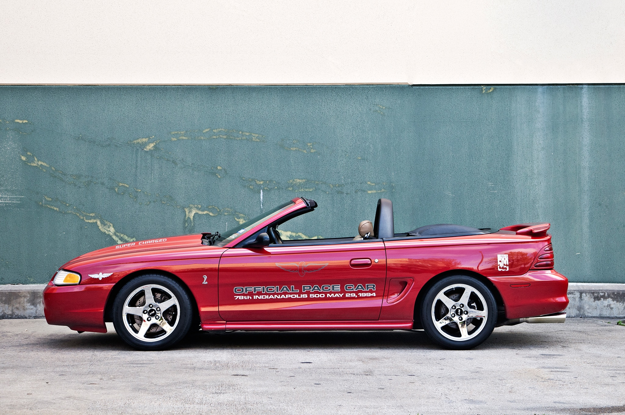 1994 Ford Mustang Side View