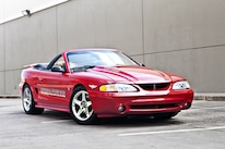 1994 Ford Mustang Front Side View