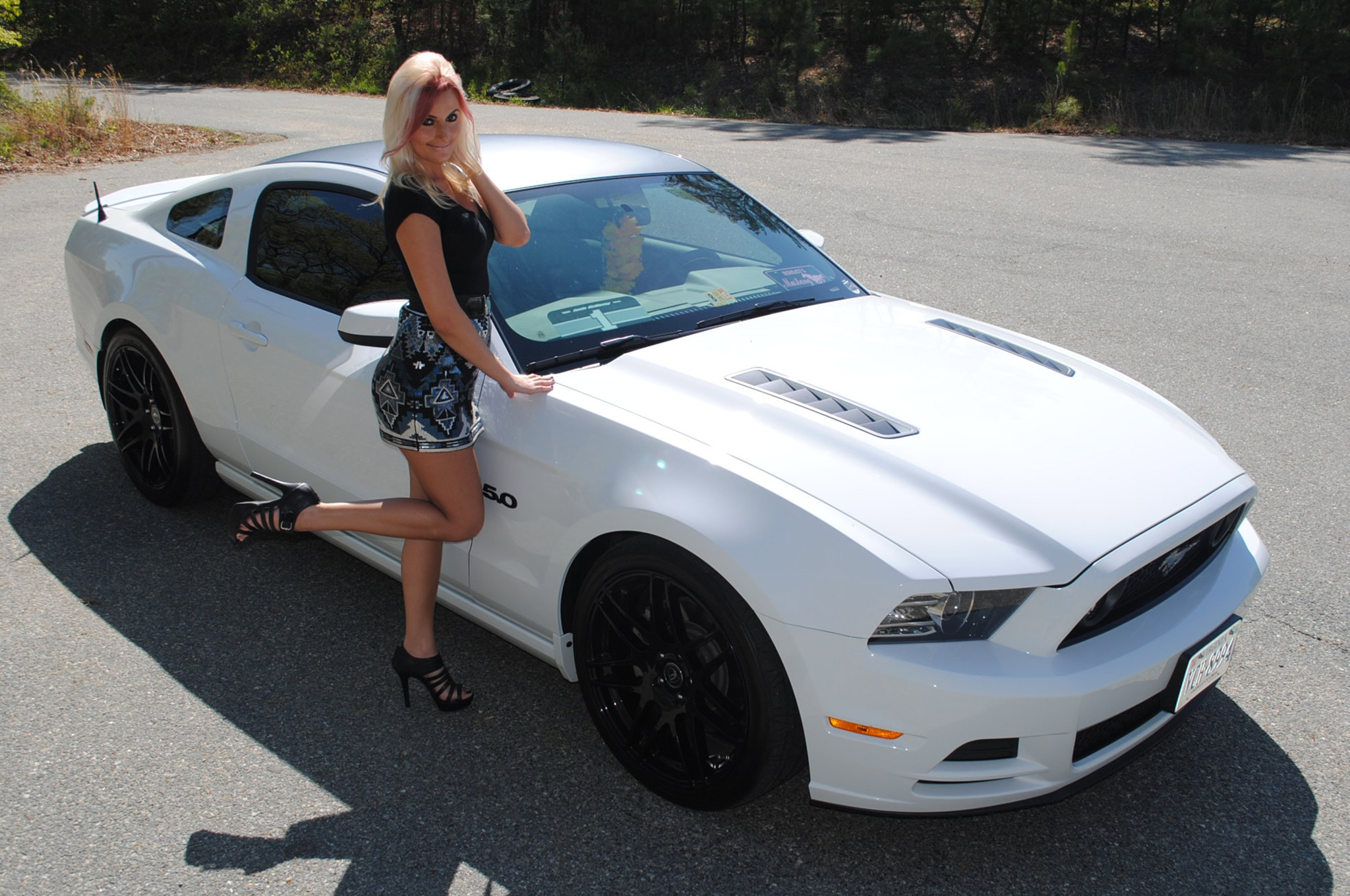 Ashley Arrington Mustang Babe Of The Month 03