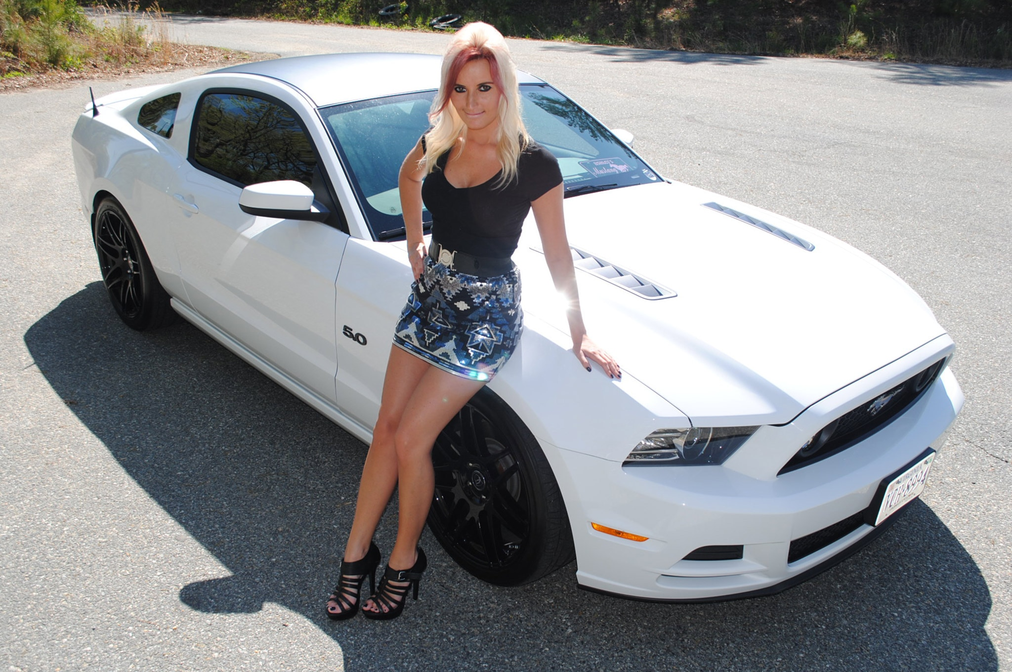 Ashley Arrington Mustang Babe Of The Month 02