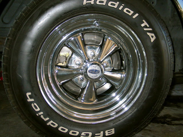 1968 Ford Mustang Disc Brakes Completed