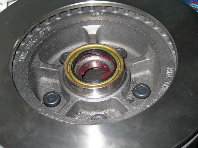 1968 Ford Mustang Disc Brakes Inner Grease Seal