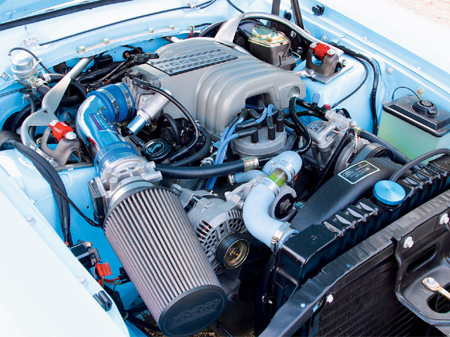 1972 Ford Maverick Engine