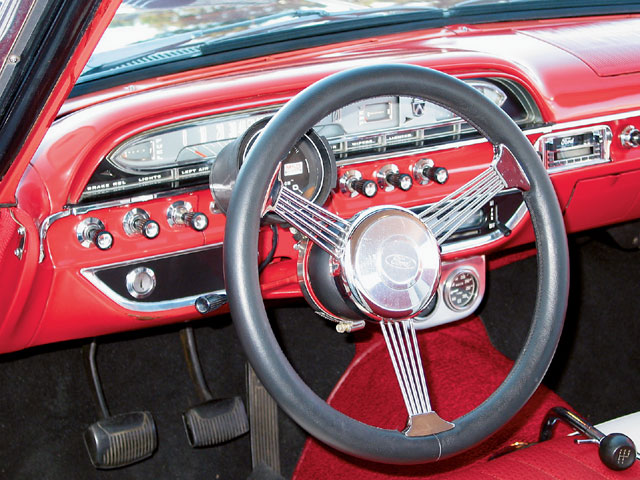 1961 Galaxie Starliner Gauge Cluster