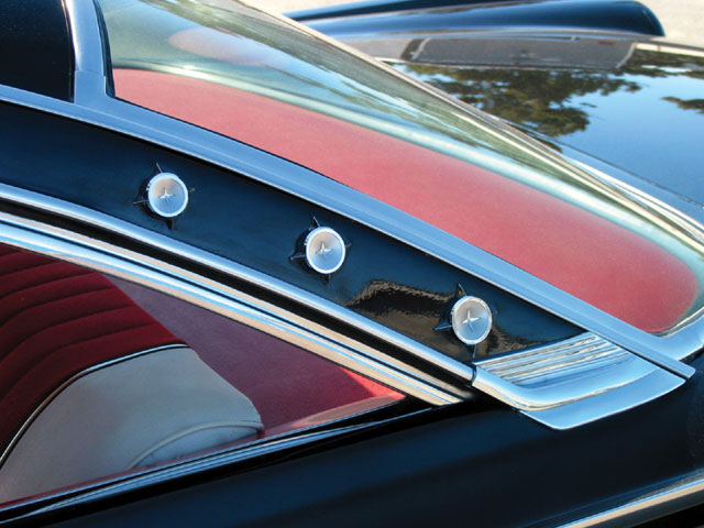 1961 Galaxie Starliner Shooting Star Emblems