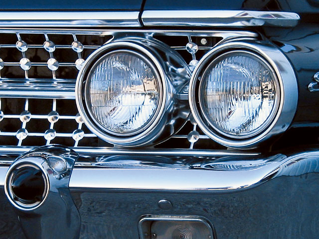 1961 Galaxie Starliner Headlights