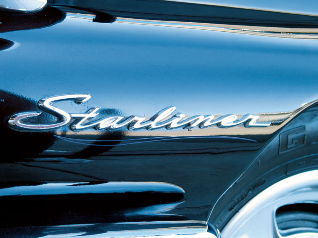 1961 Galaxie Starliner Emblem