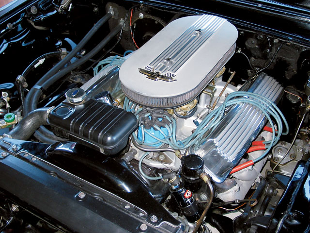 1961 Galaxie Starliner Engine View