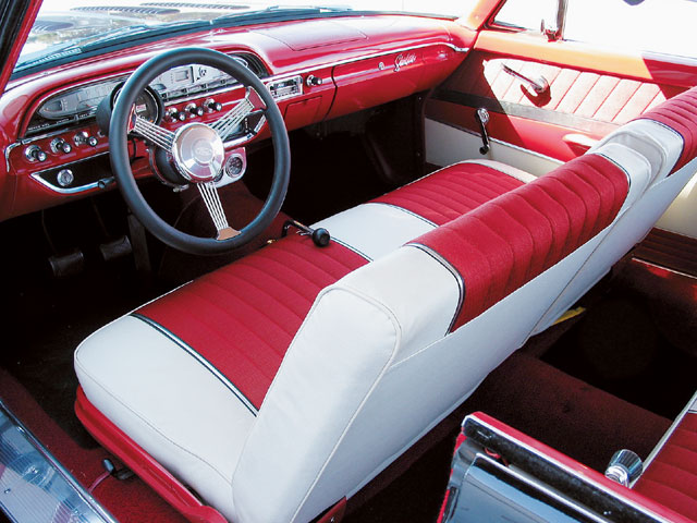 1961 Galaxie Starliner Front Cabin