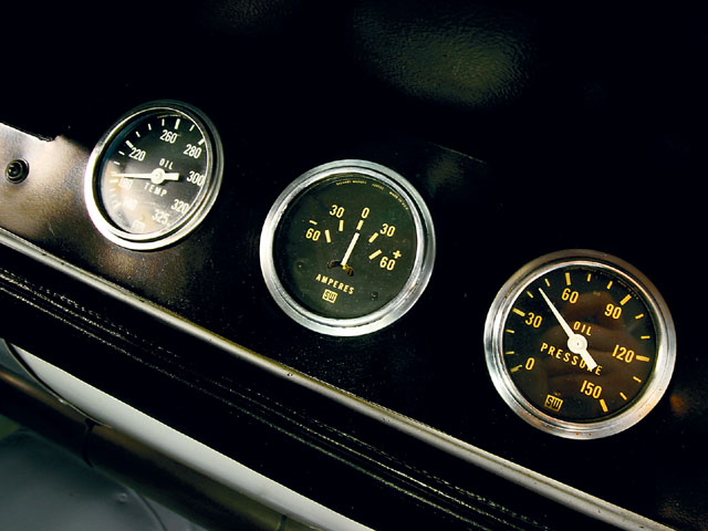 1967 Shelby Cobra Gauges