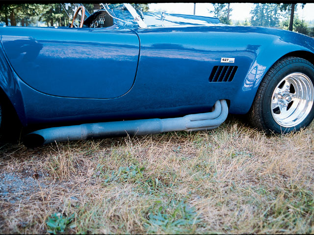 1966 Shelby Cobra Replica Exhasut Pipes