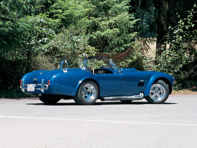 1966 Shelby Cobra Replica Passengers Side View