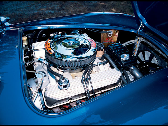 1966 Shelby Cobra Replica Engine View