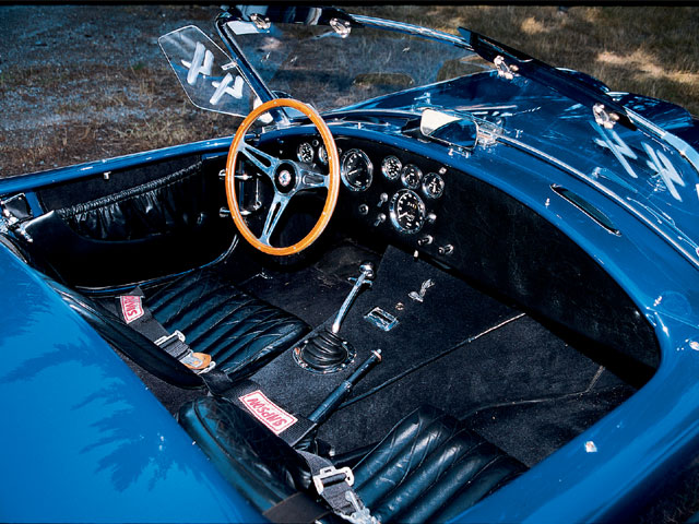 1966 Shelby Cobra Replica Front Cabin View