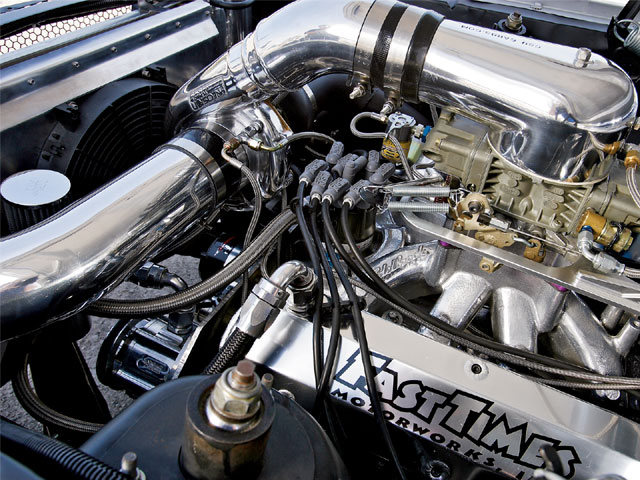 1965 Ford Mustang Fastback Engine Bay