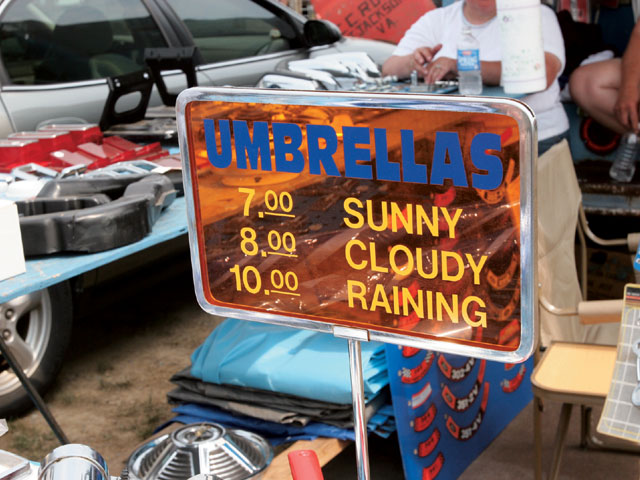 Carlisle All Ford Nationals Umbrellas