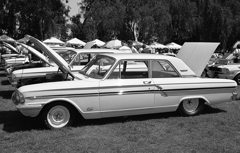 1964 Ford Thunderbolt Fairlane Side View Parked