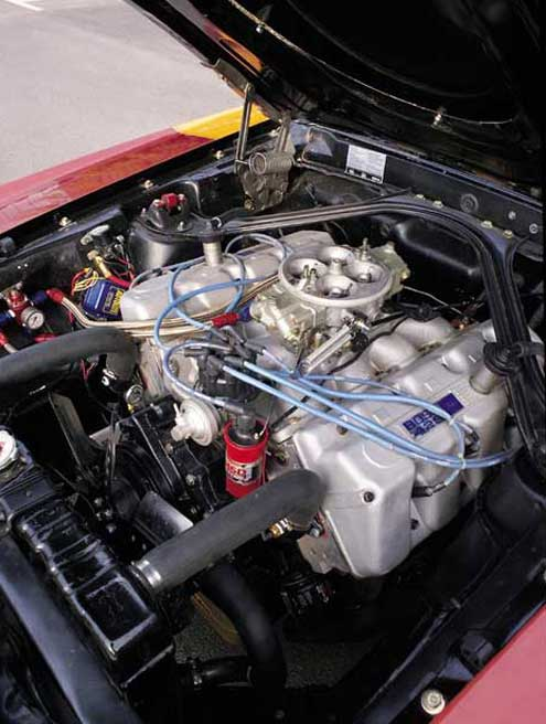 P40135 Large 1969 Ford Mustang Boss 429 Engine Bay