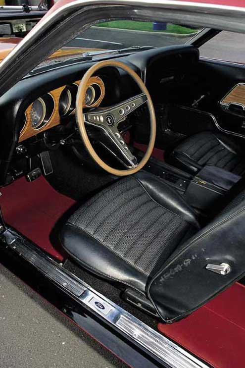 P40136 Large 1969 Ford Mustang Boss 429 Driver Side Interior