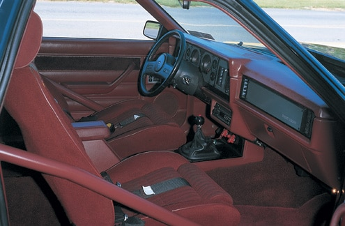 1980 Ford Fairmont Passenger Side Interior