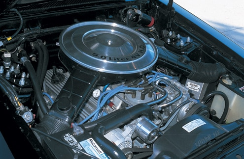 1980 Ford Fairmont Engine Bay