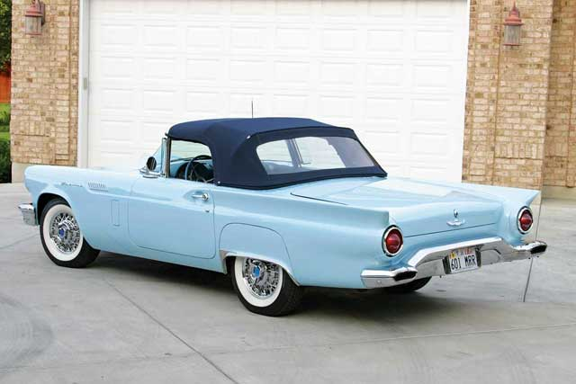 1957 Ford Thunderbird Rear View