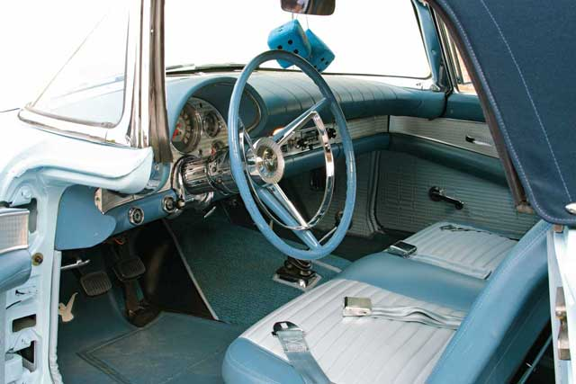 1957 Ford Thunderbird Interior